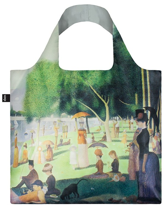 LOQI George Seurat A Sunday on the island of La Grande Jatte Shopper