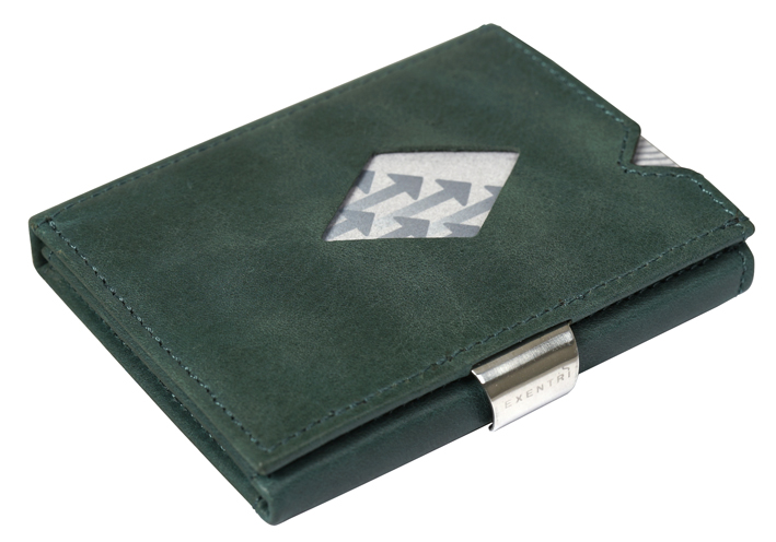 Exentri Wallet RFID Emerald Green