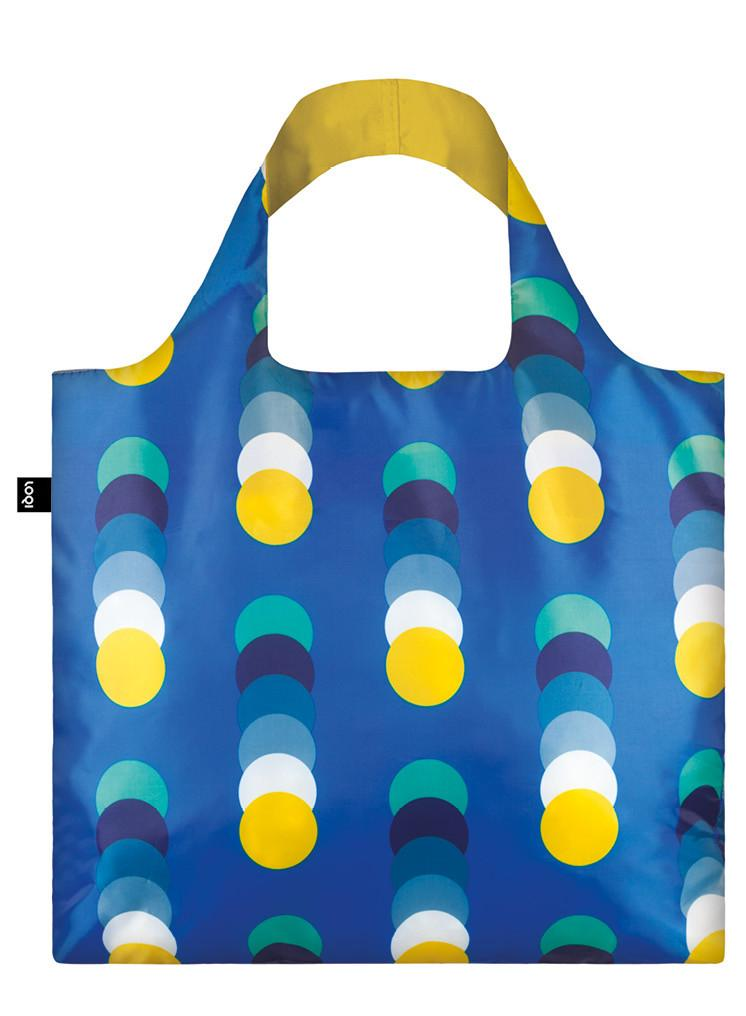 LOQI Geometric Shopper Circles
