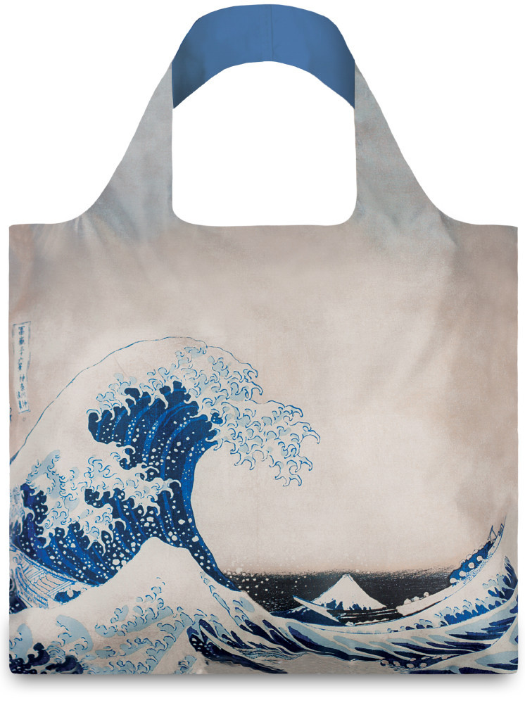 LOQI Museum Collection Shopper Hokusai The Great Wave
