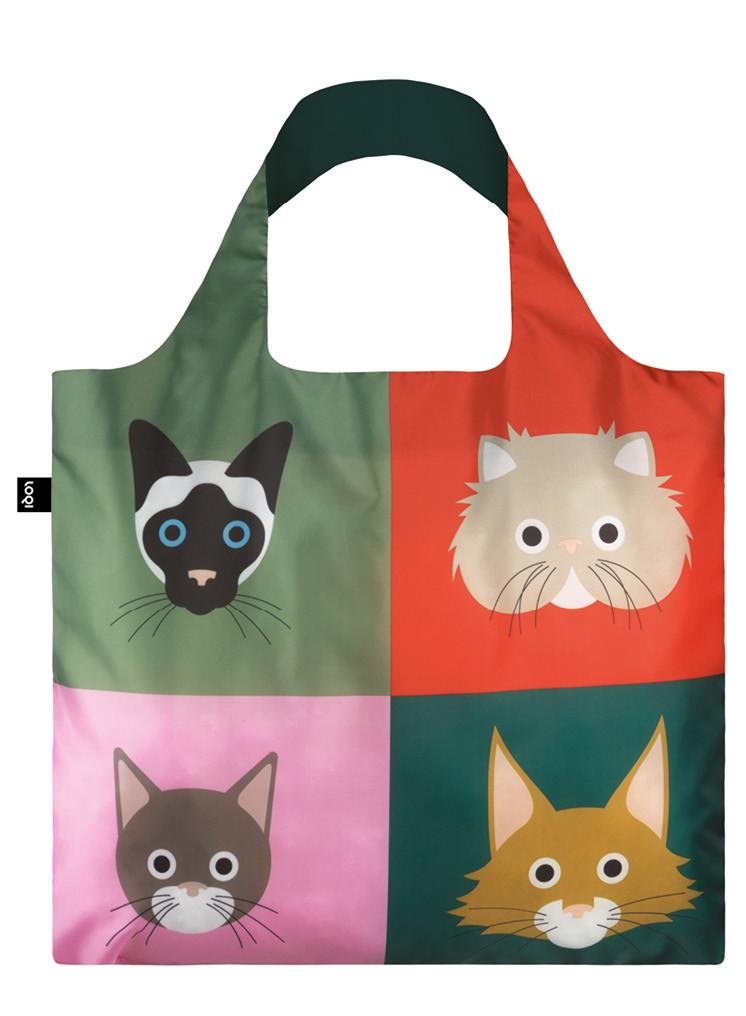 LOQI Stephen Cheetham Shopper Cats