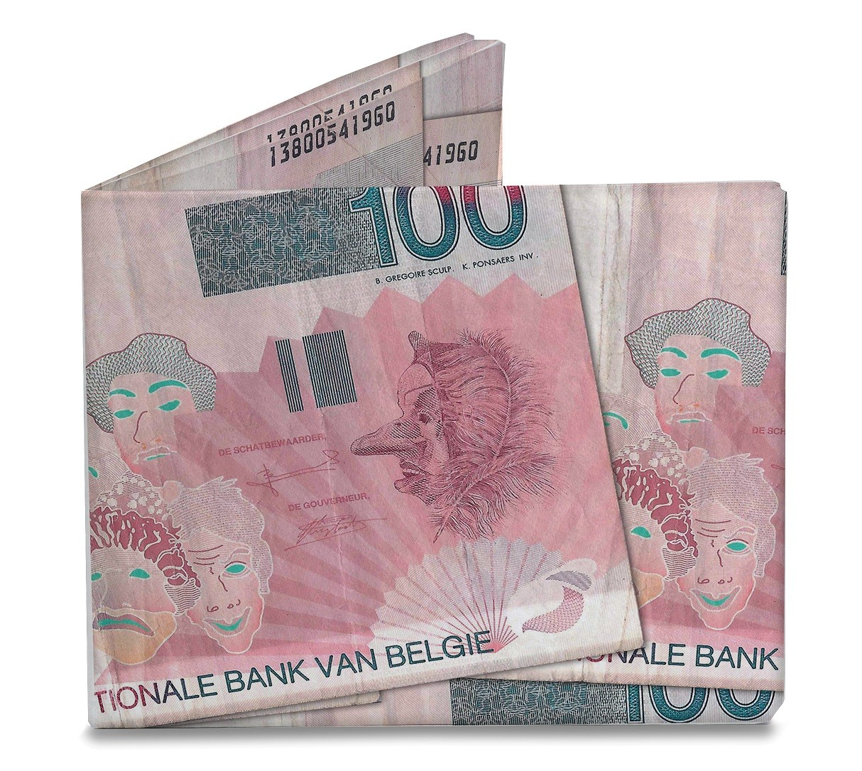 Mighty Wallet - Belgische Mark