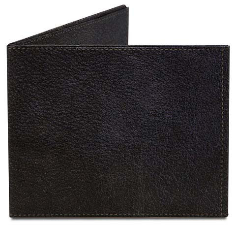 Mighty Wallet Black Leather