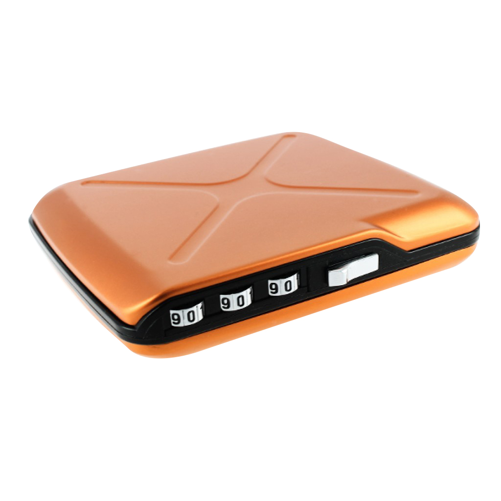 Ögon CODE Wallet Mini Safe Orange