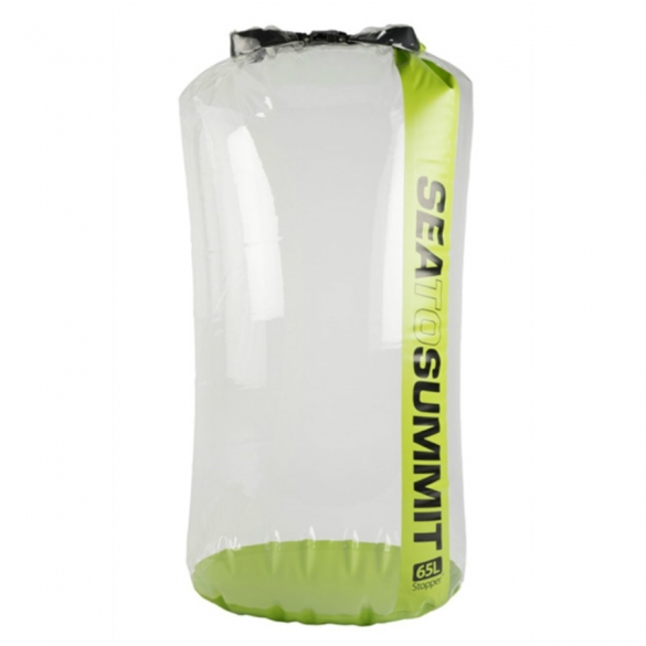 Sea To Summit Stopper Clear Dry Bag 65L Green